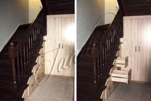 Гардеробный шкаф под лестницей, Богородское