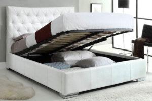 Основание кровати с подъемным механизмом