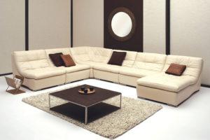 Современный красивый диван