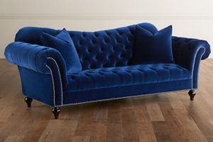 Классические диваны, диваны с каретной стяжкой на заказ