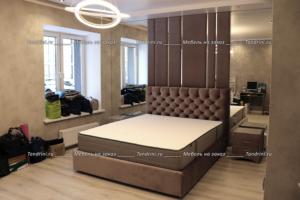 Кровать с изголовье на заказ